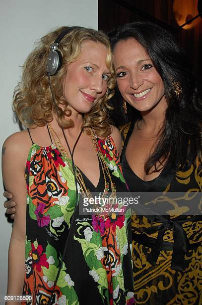 Bonnie and Emma SnowdonJones attend Emma SnowdonJones and Antony Todd host private kickoff of the Lady DJ Series at THOM Bar Thompson Hotel NYC on...