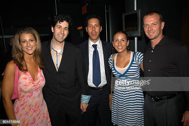 Bonnie Bernstein Burton Evan Rocks Harrison Wise Sarah Polonsky and Billy Wagner attend CHAT WITH A STAR Unveils the 'Blogmobile' and Hosts a...