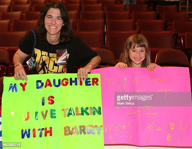 Bonnie Charlotte and Charlotte Chiaccio at sound check in at Wells Fargo Center on May 19, 2014 in Philadelphia, Pennsylvania. Barry dedicated...