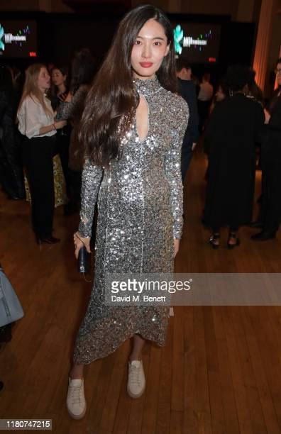 Bonnie Chen attends the BAFTA Breakthrough Brits celebration event in partnership with Netflix at Banqueting House on November 7, 2019 in London,...