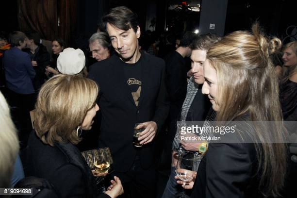 Bonnie Clearwater Richard Phillips Glenn Fuhrman and Amanda Steck attend HAUNCH OF VENISON 'Your History is Not Our History' After Party at 48 Lounge...