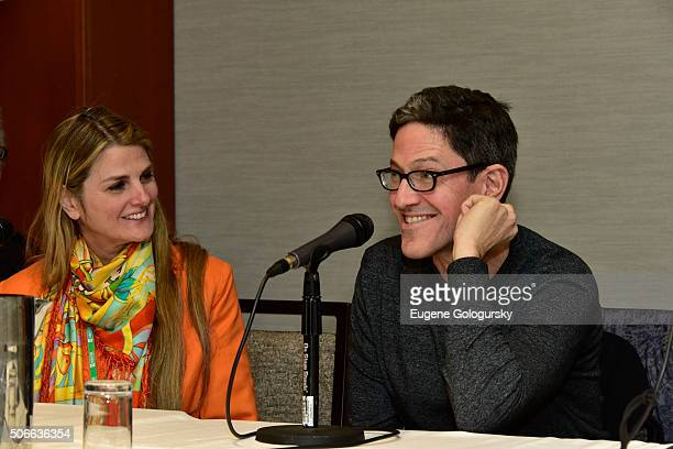Bonnie Comley, and Randy Weiner attend BroadwayCon: All The World's A Stage, With Panelists Bonnie Comley, Leah Lane, Randy Weiner, Anita Durst,...