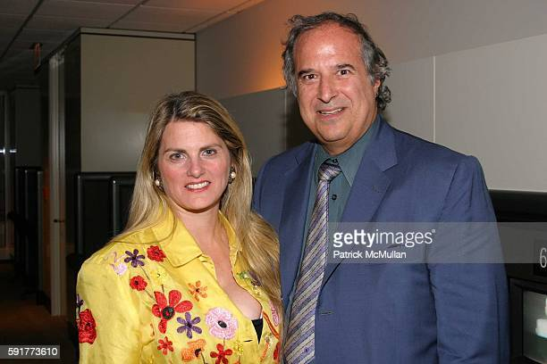 Bonnie Comley and Stewart F Lane attend A Centennial Celebration for Harold Arlen at The Museum of Television and Radio on October 17 2005 in New...