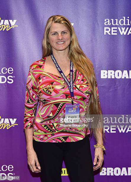 Bonnie Comley attends BroadwayCon 2017 at The Jacob K. Javits Convention Center on January 27, 2017 in New York City.