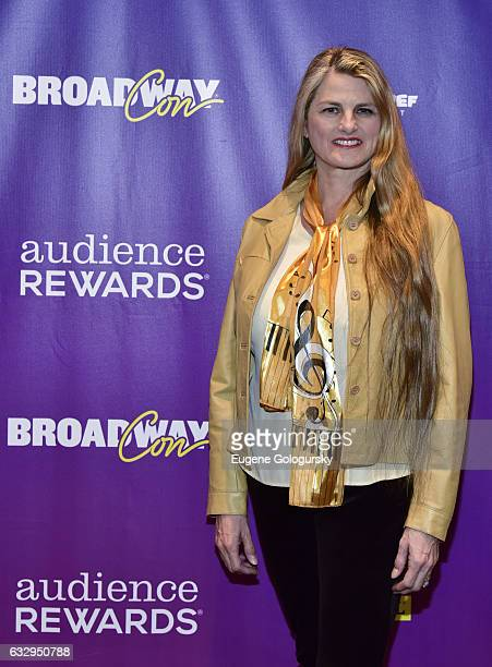 Bonnie Comley attends BroadwayCon 2017 at The Jacob K Javits Convention Center on January 28 2017 in New York City