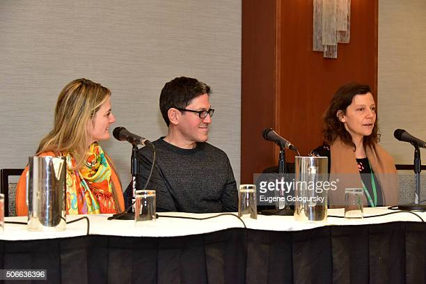 Bonnie Comley Randy Weiner and Anita Durstattend BroadwayCon All The World's A Stage With Panelists Bonnie Comley Leah Lane Randy Weiner Anita Durst...