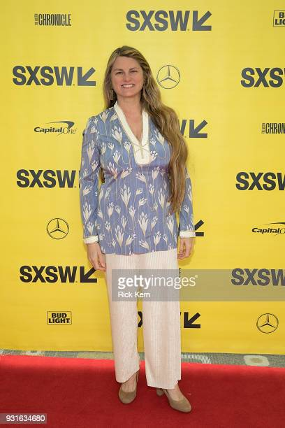 Bonnie Comley Vice President of BroadwayHD attends the panel 'Keeping Performing Arts Alive in a Digital World' during SXSW at the Austin Convention...