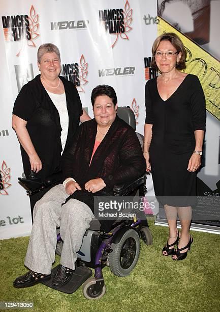 "Bonnie Cullison, Marcia Massey and Bonnie Rubin-Sugarman attend ""Trophy Kids"" World Film Festival Premiere at Laemmle Sunset 5 Theatre on June 5,..."