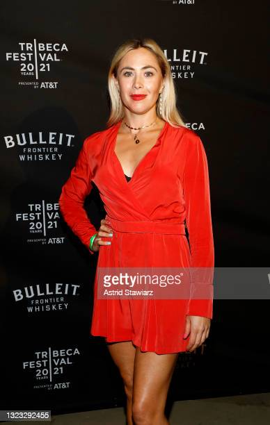 Bonnie Discepolo attends the Italian Studies after party at The Battery Hosted By Bulleit Frontier Whiskey during the 2021 Tribeca Festival on...