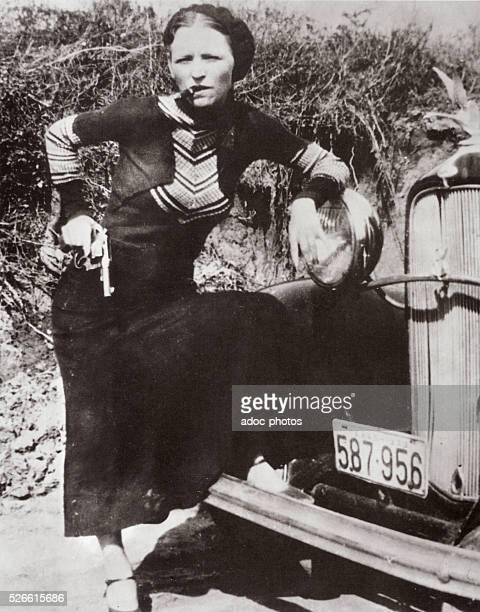 Bonnie Elizabeth Parker American outlaw Ca 1930