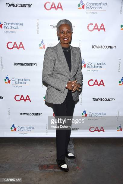 Bonnie Hill attends Communities In Schools LA 'Lunch With a Leader' on October 19 2018 in West Hollywood California