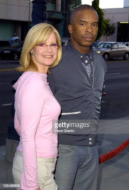 Bonnie Hunt and David Alan Grier during The Terminal World Premiere Arrivals at The Academy in Beverly Hills California United States