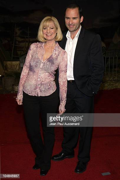 Bonnie Hunt and Mark Derwin during Dreamkeeper ABC AllStar Winter Party at Quixote Studios in Los Angeles California United States