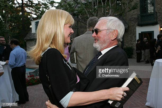 Bonnie Hunt and Norman Jewison during Norman Jewison Book Signing Hosted by Alain Dudoit, Consul General of Canada at Canadian Residence in Los...