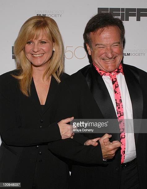Bonnie Hunt and Robin Williams recipient of the Peter J Owens Award