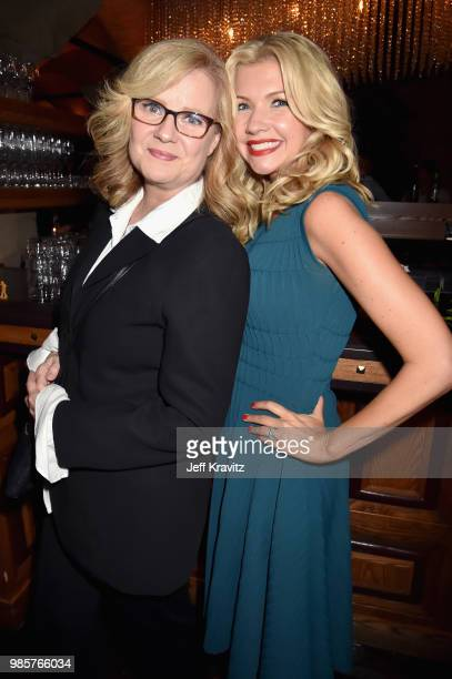 Bonnie Hunt and Susan Yeagley attend the Los Angeles Premiere of Robin Williams Come Inside My Mind from HBO on June 27 2018 in Hollywood California