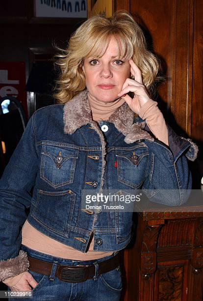 Bonnie Hunt during 2005 Park City Levi's Ranch at Levi's House in Park City Utah United States
