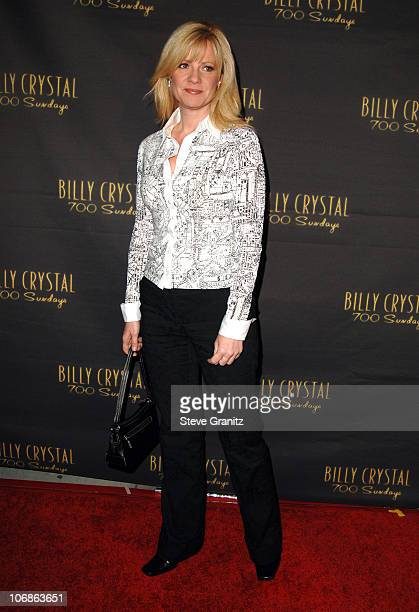 """Bonnie Hunt during Los Angeles Opening Night of The Tony Award Winning Broadway Show Billy Crystal """"700 Sundays"""" at Wilshire Theatre in Beverly..."""