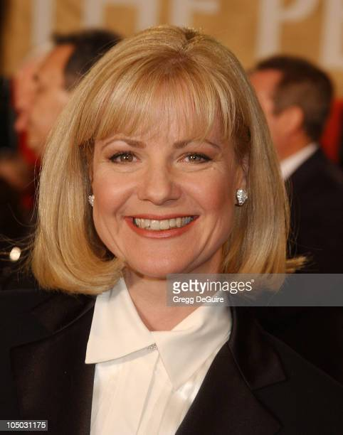 Bonnie Hunt during The 29th Annual People's Choice Awards Arrivals by Gregg DeGuire at Pasadena Civic Auditorium in Pasadena California United States