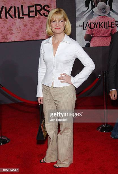 Bonnie Hunt during The Ladykillers Los Angeles Premiere at The El Capitan Theaatre in Hollywood California United States