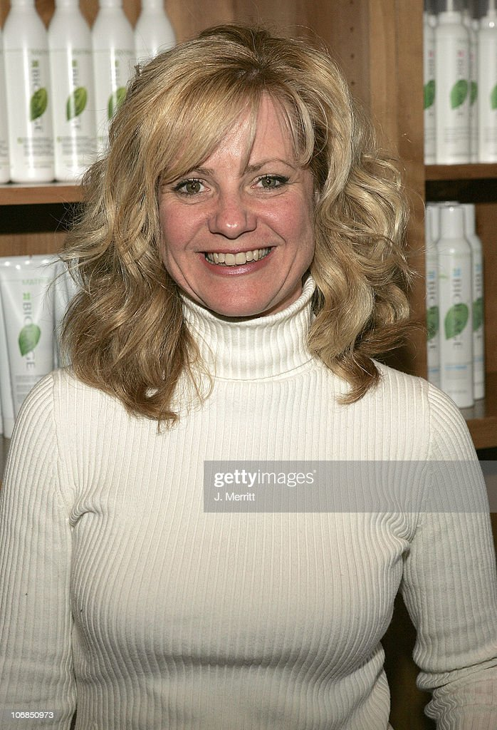 Bonnie Hunt with Biolage Style Studio during UPP Hot House ...