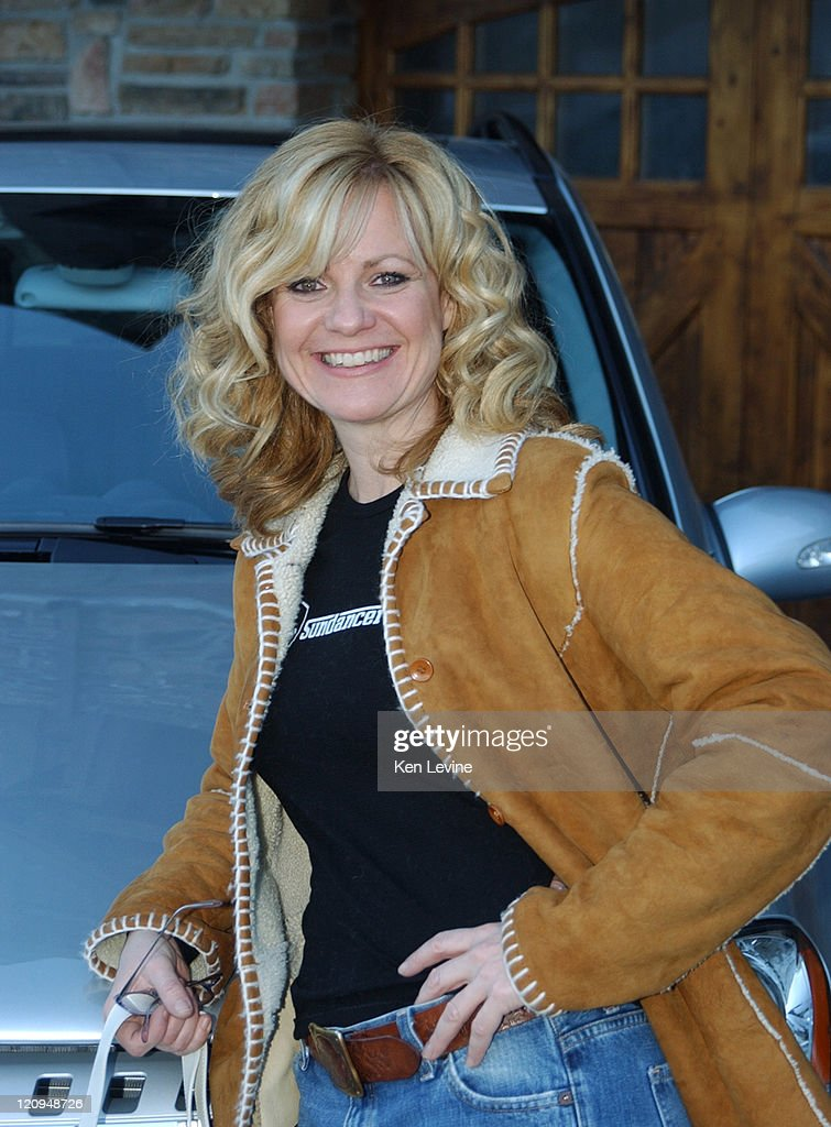 Bonnie Hunt with the Mercedes Benz M Class during 2005 ...