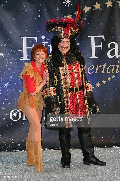 Bonnie Langford and Simon Callow take part in the First Family Entertainment panto photocall at O2 Centre on November 19 2008 in London England