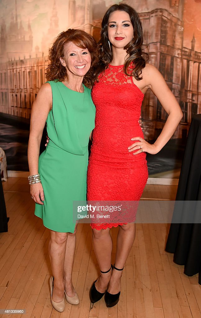 Bonnie Langford and Zizi Strallen attend the press night performance of 'The Car Man' at Sadler's Wells Theatre on July 19, 2015 in London, England.