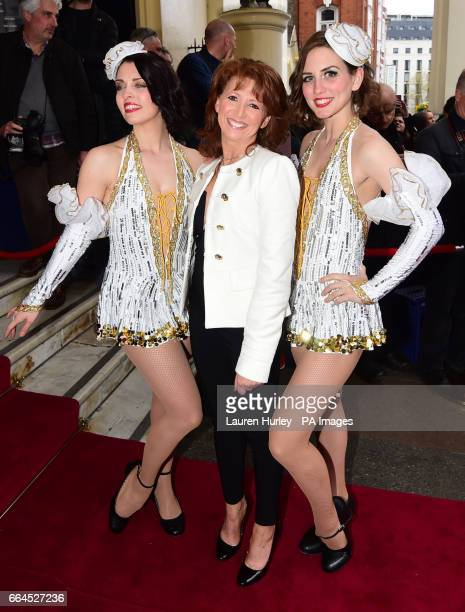 Bonnie Langford arrives for the opening night of the musical 42nd Street in aid of East Anglia's Children's Hospice at the Theatre Royal Drury Lane...