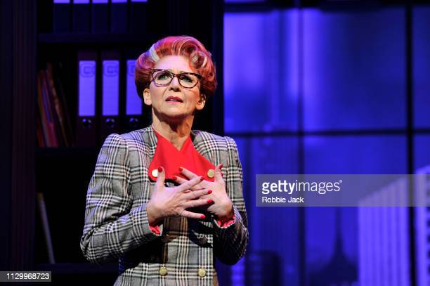 Bonnie Langford as Roz Keith in 9 To 5 The Musical directed by Jeff Calhoun at The Savoy Theatre on February 14 2019 in London England