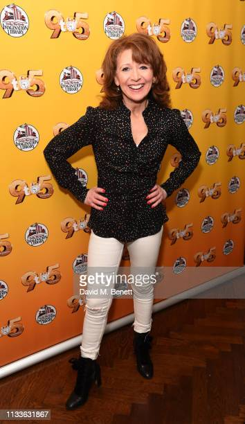 """Bonnie Langford attends an after party to celebrate Louise Redknapp rejoining the cast of """"9 To 5: The Musical"""" at The Hospital Club on March 29,..."""