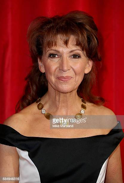 Bonnie Langford attends the British Soap Awards 2016 at Hackney Empire on May 28 2016 in London England