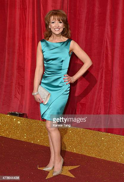 Bonnie Langford attends the British Soap Awards at Manchester Palace Theatre on May 16 2015 in Manchester England