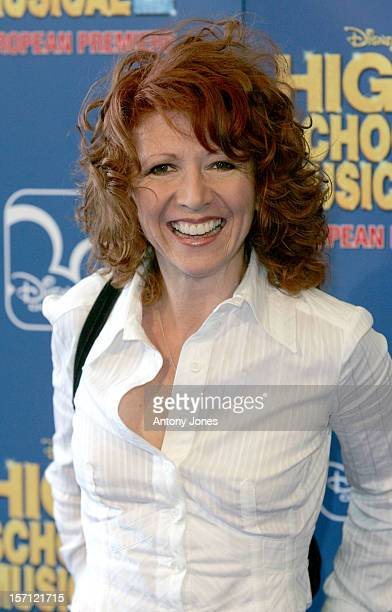 Bonnie Langford Attends The 'High School Musical 2' European Premiere At The O2 Arena In London