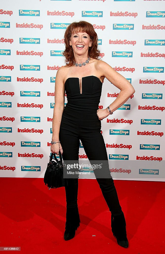 Bonnie Langford attends the Inside Soap Awards at DSKTRT on October 5, 2015 in London, England.