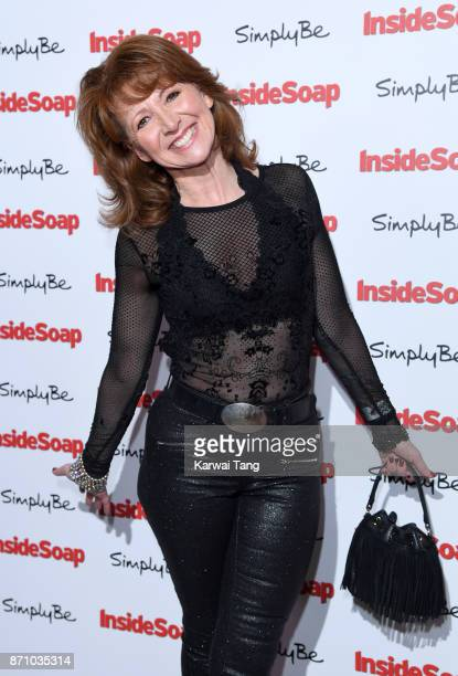 Bonnie Langford attends the Inside Soap Awards at The Hippodrome on November 6 2017 in London England