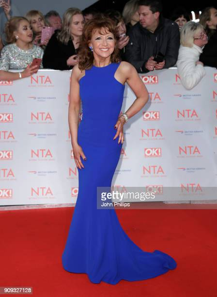 Bonnie Langford attends the National Television Awards 2018 at the O2 Arena on January 23 2018 in London England