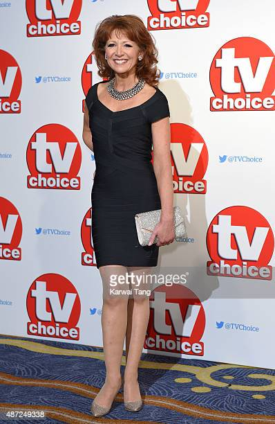 Bonnie Langford attends the TV Choice Awards 2015 at Hilton Park Lane on September 7 2015 in London England