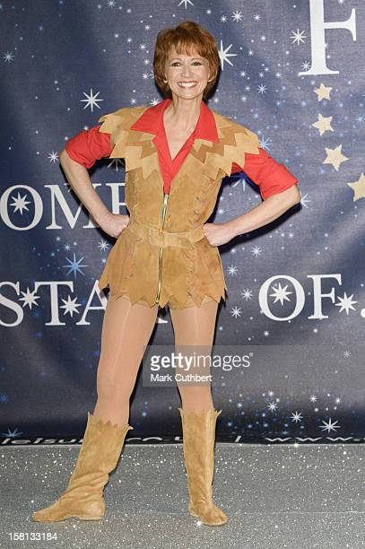 Bonnie Langford During A Panto Photocall For Peter Pan At The O2 Centre In London