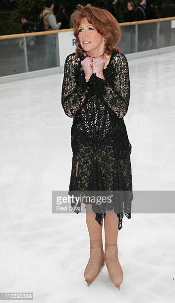 Bonnie Langford during Dancing on Ice TV Press Launch at Natural History Museum in London Great Britain