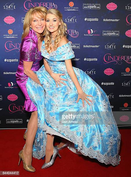 Bonnie Lythgoe and Jaime Hadwen arrive ahead of opening night of Cinderella at State Theatre on July 1 2016 in Sydney Australia