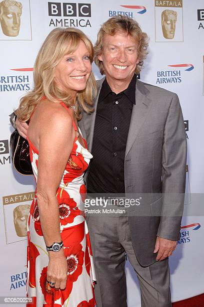 Bonnie Lythgoe and Nigel Lythgoe attend BAFTA Pre Emmy Tea Party at Intercontinental Hotel on September 20 2008 in Century City CA