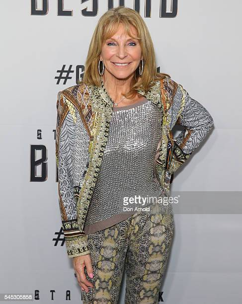 Bonnie Lythgoe arrives ahead of the Star Trek Beyond Australian Premiere on July 7 2016 in Sydney Australia