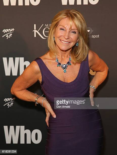 Bonnie Lythgoe arrives ahead of the WHO Sexiest People Party on October 26 2016 in Sydney Australia