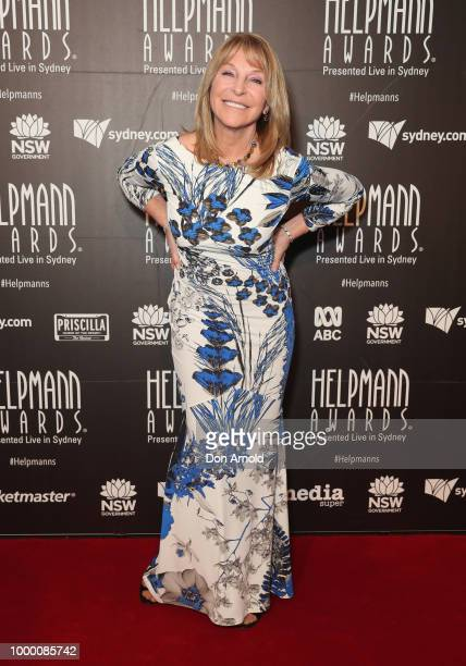 Bonnie Lythgoe arrives at the 18th Annual Helpmann Awards at Capitol Theatre on July 16 2018 in Sydney Australia