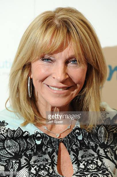 Bonnie Lythgoe arrives at the launch of the 2016 annual BLOCH Dance World Cup on April 28 2016 in London England