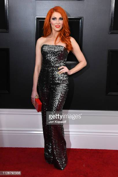 Bonnie McKee attends the 61st Annual GRAMMY Awards at Staples Center on February 10 2019 in Los Angeles California