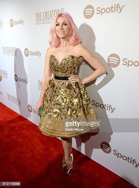 Bonnie McKee attends The Creators Party Presented By Spotify at Cicada on February 13 2016 in Los Angeles California