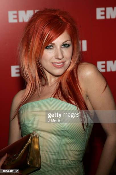 Bonnie McKee during 2005 EMI Post GRAMMY Awards Party in Los Angeles CA United States