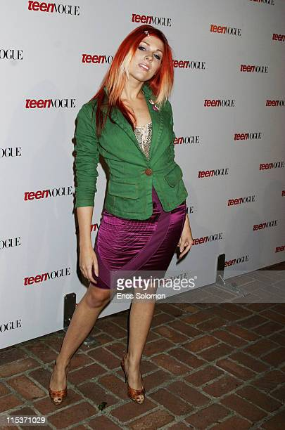 Bonnie McKee during Teen Vogue Young Hollywood Party at Chateau Marmont in West Hollywood California United States
